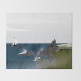 Creatures of the North: Mermaid Throw Blanket
