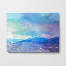 Sierra Nevada, Spain Metal Print