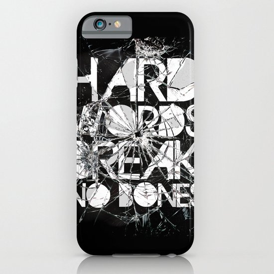HARD WORDS iPhone & iPod Case