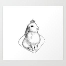 Bunny Princess #2 Art Print