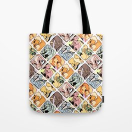 Eeveelution Mosaic Tote Bag