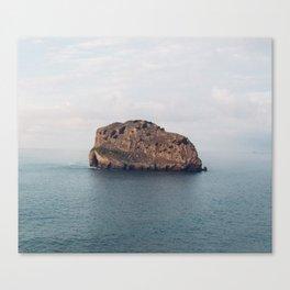 Basque Country Desolate Island Canvas Print