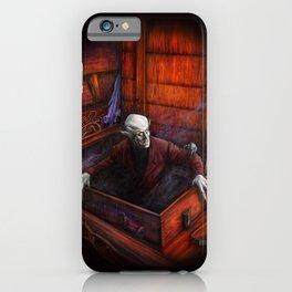 Dracula Nosferatu Vampire King iPhone Case