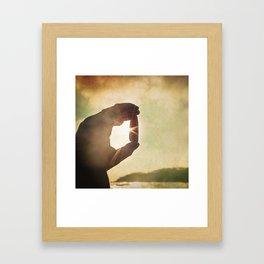 Thunderstone - Winter Baltic Sea Serie Framed Art Print