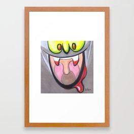 Mood Monster-vamp Framed Art Print