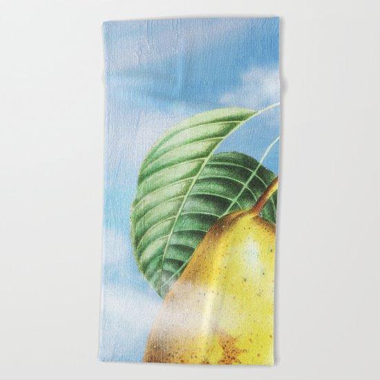 Pear Heaven Beach Towel