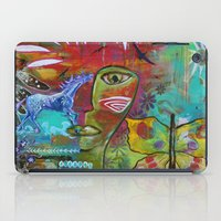 medicine iPad Cases featuring Medicine Warrior by Pixie Campbell
