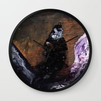 tokyo ghoul Wall Clocks featuring GHOUL by ....