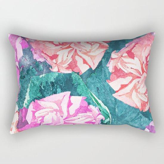 Florals #society6 #decor #lifestyle #fashion #buyart Rectangular Pillow