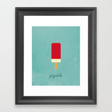 Sweet Tooth - Popsicle Framed Art Print