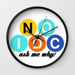 Tell the world to say NO to the IDC! Wall Clock