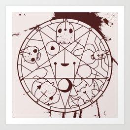 PENTACUTIES Art Print