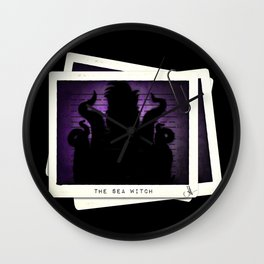 """The Sea Witch"" Mugshot Wall Clock"