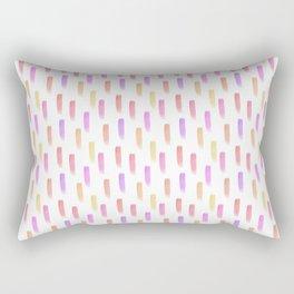Bright watercolor pattern Rectangular Pillow