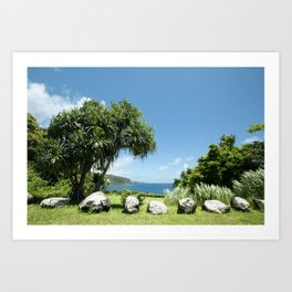 Keanae Maui Hawaii Art Print