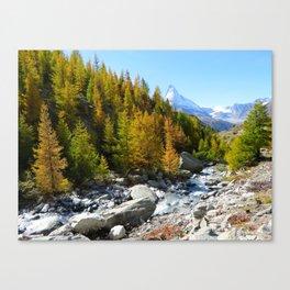 Array of Alps  Canvas Print