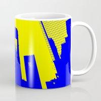 metropolis Mugs featuring Metropolis by osile ignacio