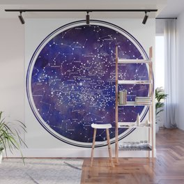 Star Map IV Wall Mural