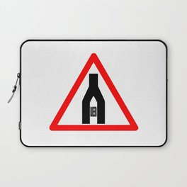 Beer Time Sign Laptop Sleeve