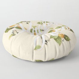 Peachy Keen : Peach Floor Pillow