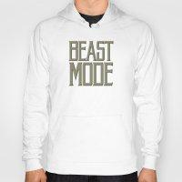 depeche mode Hoodies featuring Beast Mode by Art Lahr
