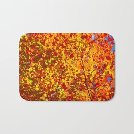 Blazing Fall Canopy Bath Mat