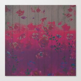 Dirty Rose Canvas Print