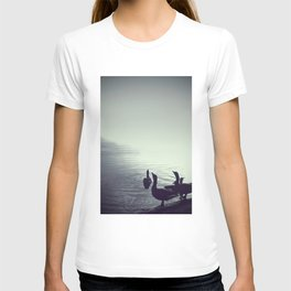 The goose song - Fine Arts Nature Photography T-shirt