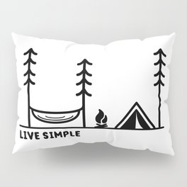 Live Simple Pillow Sham