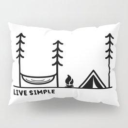 Live Simple Pillow Sham