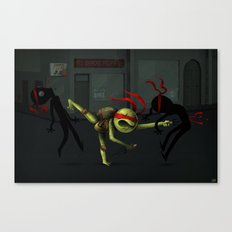 Raph being Raph Canvas Print