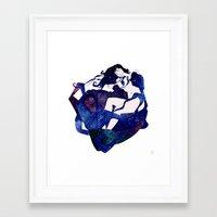 celestial Framed Art Prints featuring Celestial by Stevyn Llewellyn