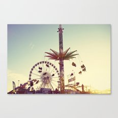 Golden Hour at the Carnival Canvas Print