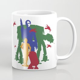 c3po, r2d2 & Amidala Coffee Mug