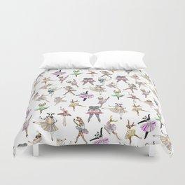 Animal Ballet Hipsters LV Duvet Cover
