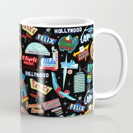 Vintage Signs Pattern #2 Coffee Mug