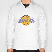 lakers Hoodies featuring Lakers by Dexter Gornez