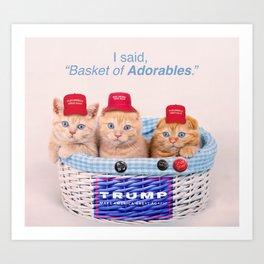Half Of Trump Supporters. Art Print