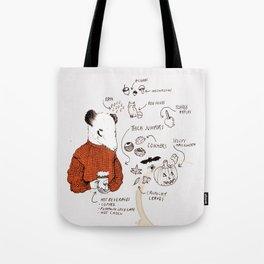 AUTUMN ICONS - colour Tote Bag