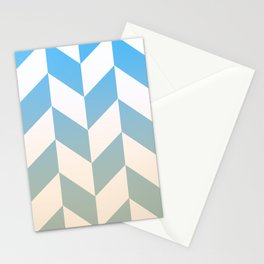Parallelogram Pattern 6 Stationery Cards