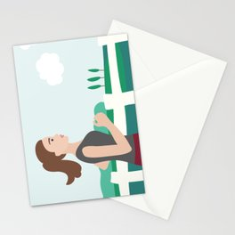 Fresh Air Runner Stationery Cards