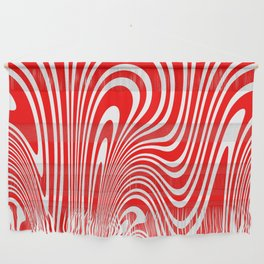 Candy Cane Wall Hanging