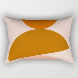 Abstraction_Color_Summer_Playful Rectangular Pillow