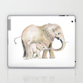 Mom and Baby Elephant 2 Laptop & iPad Skin