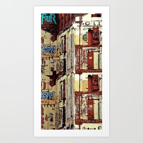 The Mill Art Print
