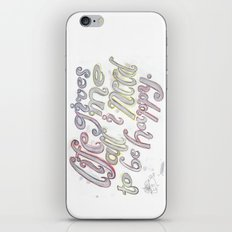 Life Gives Me All I Need  iPhone & iPod Skin