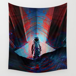 See you soon Space Cowboy Wall Tapestry