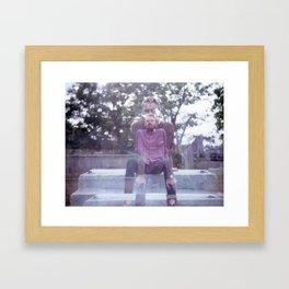 Derek/Double Framed Art Print