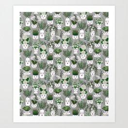 Face Vase Art Print