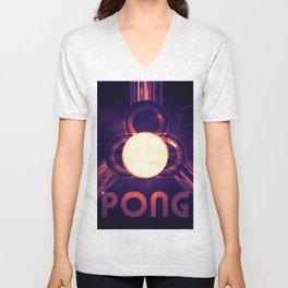 PONG #3 Unisex V-Neck